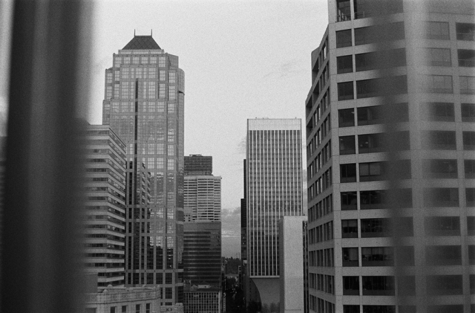 Dreaming in Seattle on 35mm Black and White Film, 2013