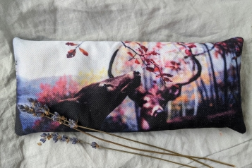 Lavender Eye Pillow for Anxiety and Insomnia